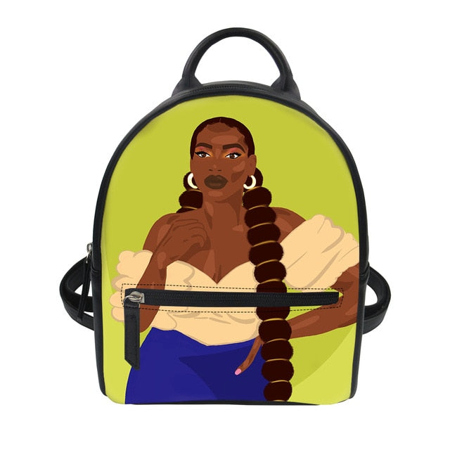 Thick Bella - Vegan  Leather Mini Backpack