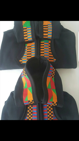 Kente fabric onsie