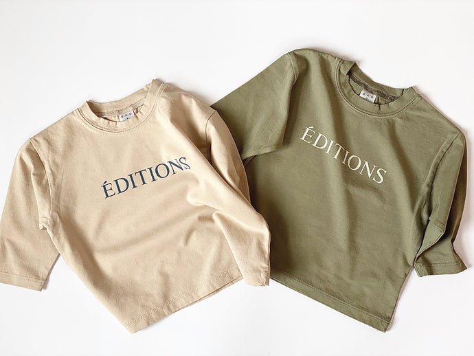Editions Long Sleeve Tee