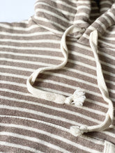 Load image into Gallery viewer, Jamie Striped Hooded Top