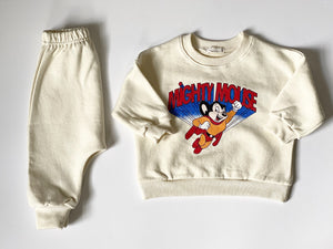 Mighty Mouse Sweat Set