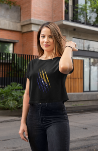 Bosnian Claw Crop Top