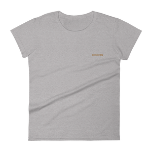 Kosovan Simple Women's Short Sleeve T-Shirt