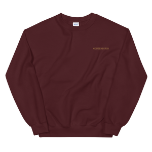 Montenegrin Simple Sweatshirt