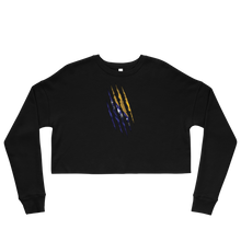Load image into Gallery viewer, Bosnian Claw Cropped Sweatshirt