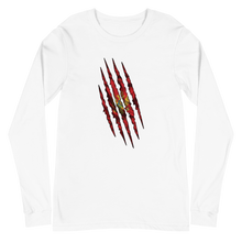 Load image into Gallery viewer, Montenegrin Claw Long Sleeve T-Shirt