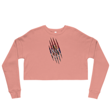 Load image into Gallery viewer, Serbian Claw Cropped Sweatshirt