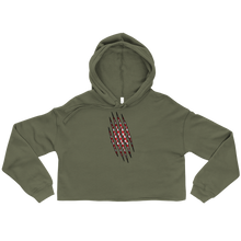 Load image into Gallery viewer, Croatian Claw Cropped Hoodie