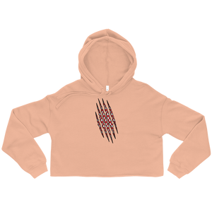 Croatian Claw Cropped Hoodie