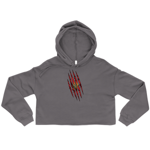 Montenegrin Claw Cropped Hoodie