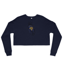 Load image into Gallery viewer, Kosovan Claw Cropped Sweatshirt