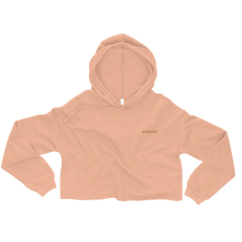 Load image into Gallery viewer, Simple Albanian Cropped Hoodie