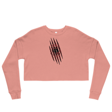 Load image into Gallery viewer, Albanian Claw Cropped Sweatshirt