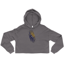 Load image into Gallery viewer, Bosnian Claw Cropped Hoodie