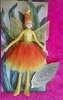 Fluffy Fairies - Orange Puff Fairy - One ONLY