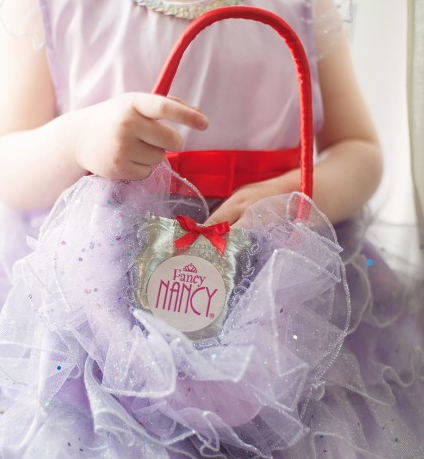 Fancy Nancy Ruffle Purse