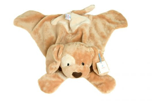 GUND Brown Puppy Huggy Buddy