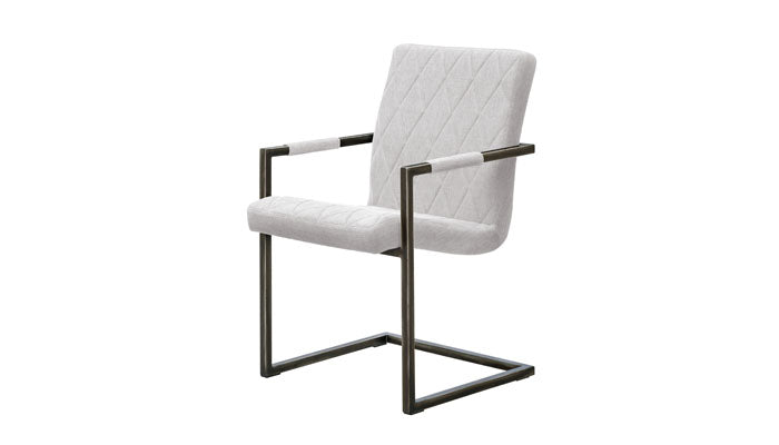 """Gage"" Side Chair in Beige"