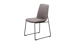 """Ruth"" Dining Chair in Gray"