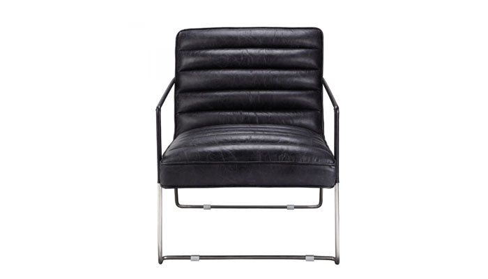 """Desmond"" Leather Club Chair"