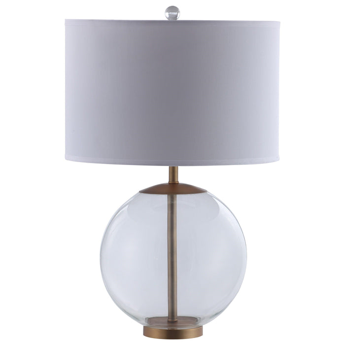"""Glass Base"" Style Table Lamp"