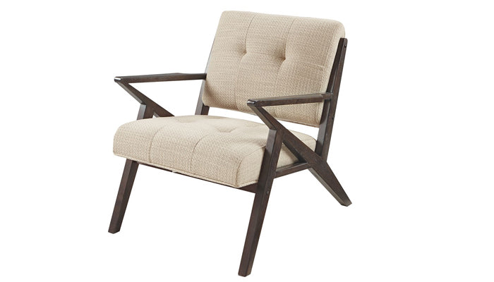 """Rocket"" Lounge Chair in Tan"