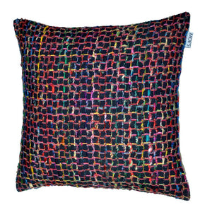 """Chain"" Feather Cushion"