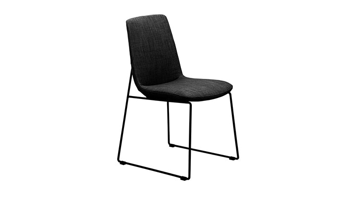 """Ruth"" Dining Chair in Black"