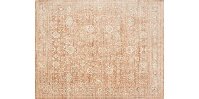 """Trousdale"" Rug in Rust"