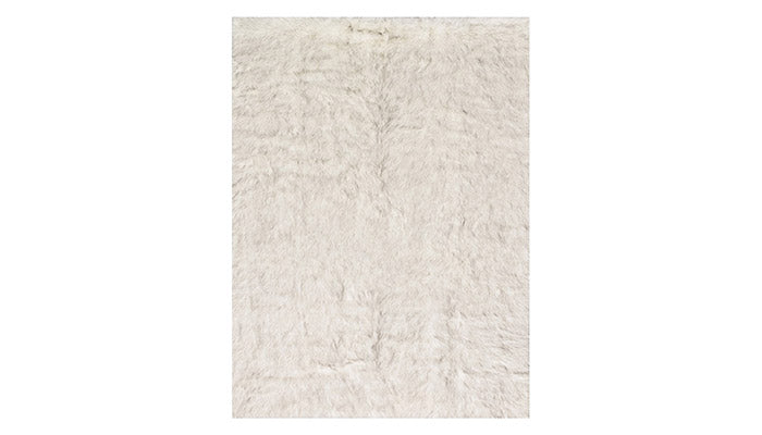 """Finley"" Rug in Ivory & Grey"