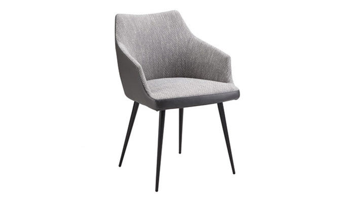 """Beckett"" Dining Chair in Grey"
