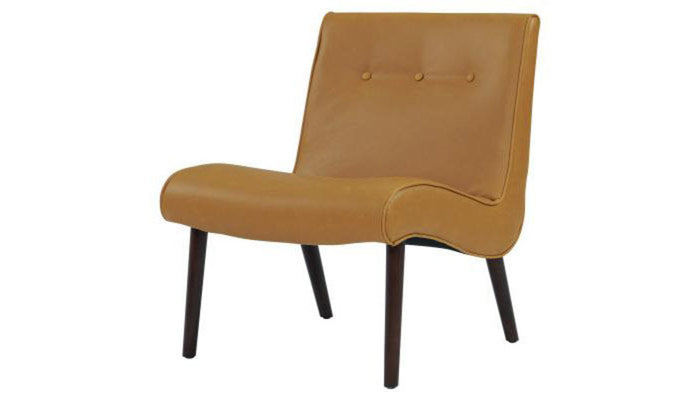 """Alexis"" Chair in Caramel"