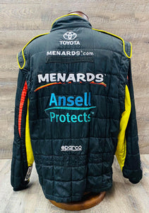 *89 OMP Race Used Driving Suit 1 Piece Multi Layer - C42/W32/L31