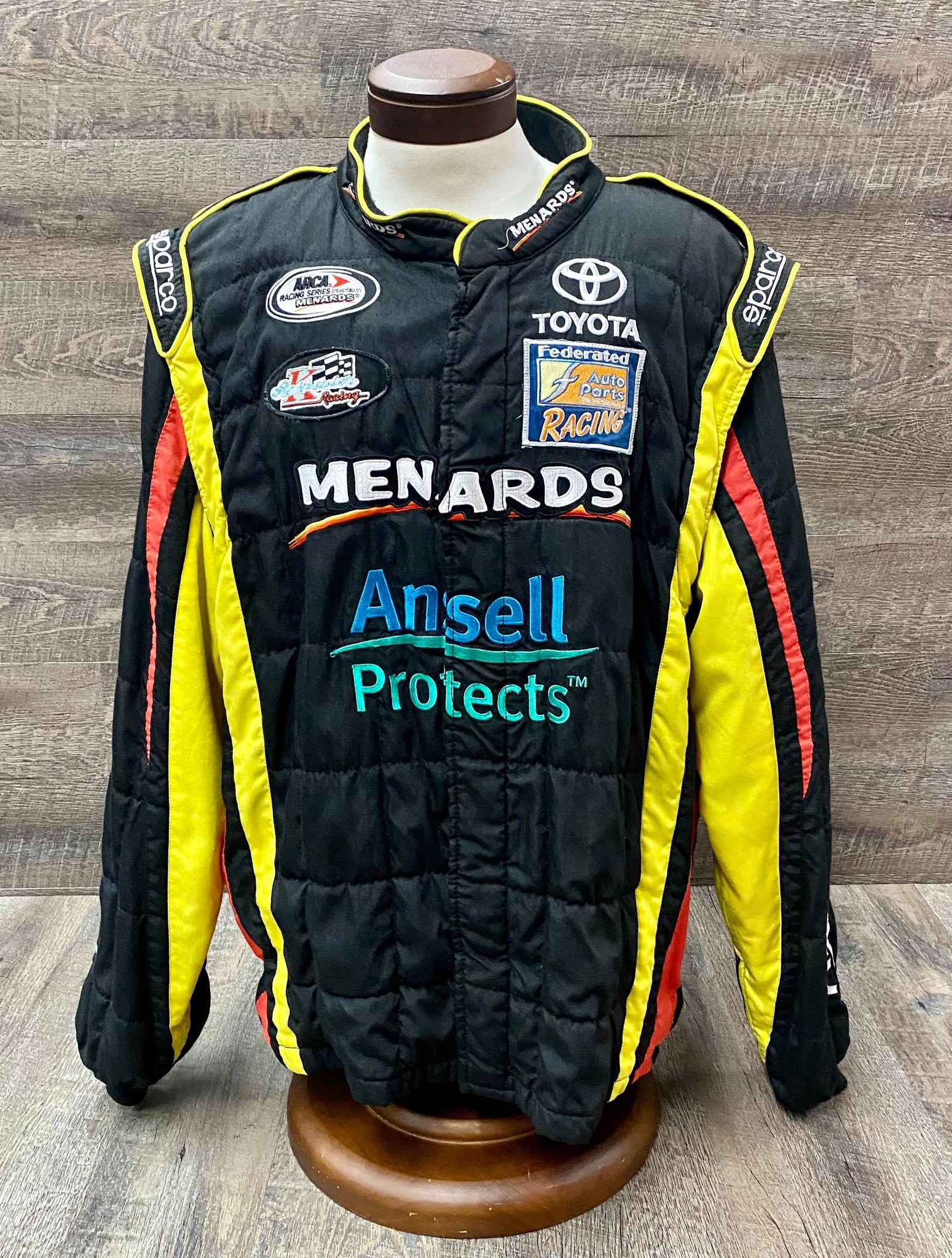 Evernham Motorsports Team Issued Heavy Duty Jacket XL