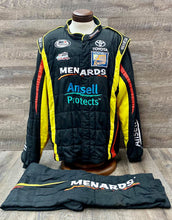 Load image into Gallery viewer, *32 Nascar SPARCO SFI 3-2A/5 Race Used Racing Fire Suit C46/W38/L30