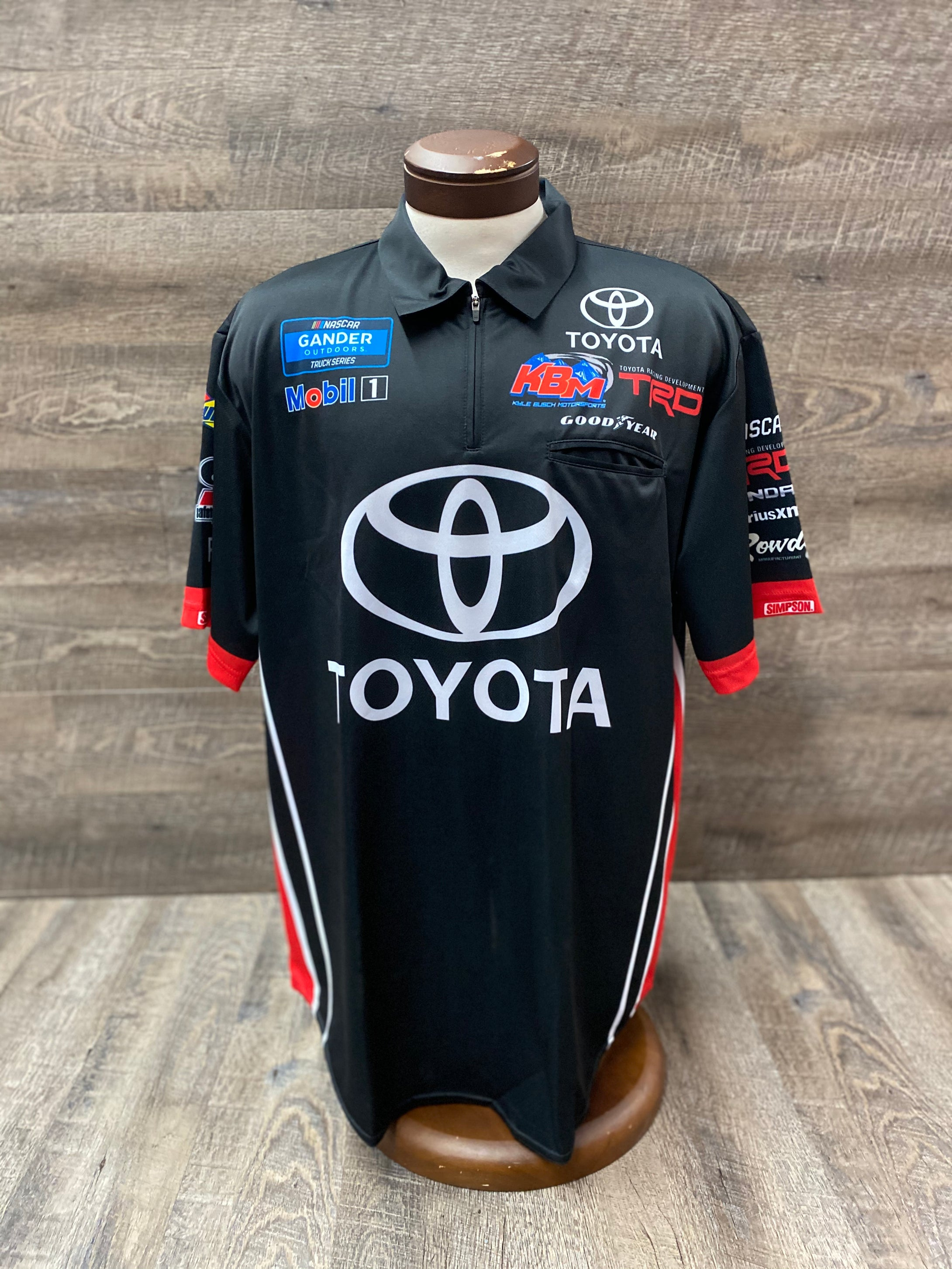 Kyle Busch Motorsports Team Issued KBM Crew Shirt XL