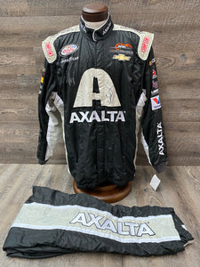 Jr Motorsports Team Issued Autographed Firesuit