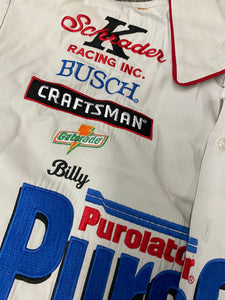 #52 Ken Schrader Team Issued Crew Shirt