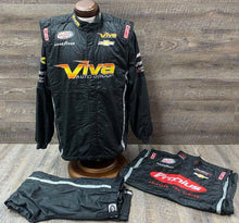 Load image into Gallery viewer, *92 Nascar SIMPSON Race Used Fire Suit Racing Suit SFI 3-2A/5 C46/W34/L28