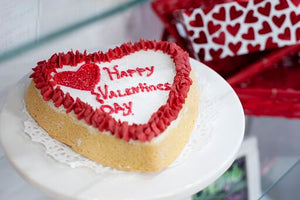 Giant Decorated Valentine Cookie