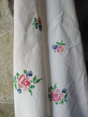 Vintage Cotton Towel - Cherdje