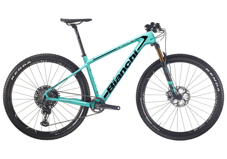 BIANCHI METHANOL CV RS 9,2 - XTR 1X12, FOX 32 SC FACTORY, DT XR1501 SPLINE 2020
