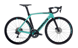 BIANCHI OLTRE XR4 CV DISC - ULTEGRA Di2 11SP 52/36 FULCRUM RACING 418 DB DISC 2020