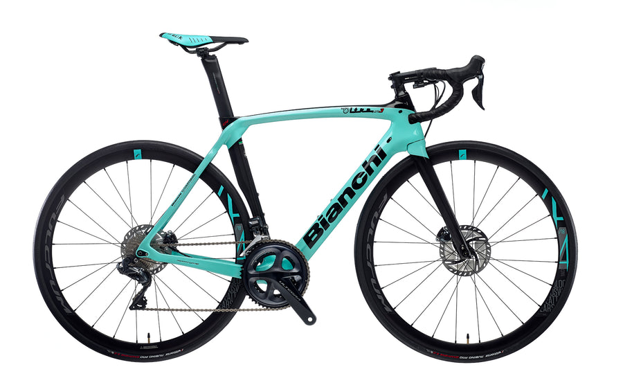BIANCHI OLTRE XR3 CV DISC - ULTEGRA 11SP Di2 52/36 FULCRUM RACING 418 DB DISC 2020