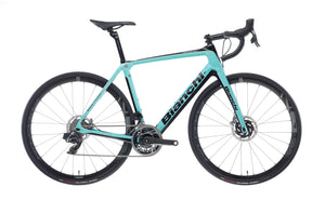 BIANCHI INFINITO CV DISC - RED ETAP AXS 12SP 46/33 FULCRUM RACING 418 DB DISC 2020