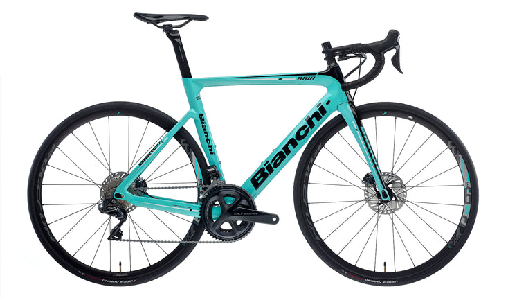 BIANCHI ARIIA DISC - ULTEGRA DI2 11SP 52/36 FULCRUM RACING 618 DB DISC  2020