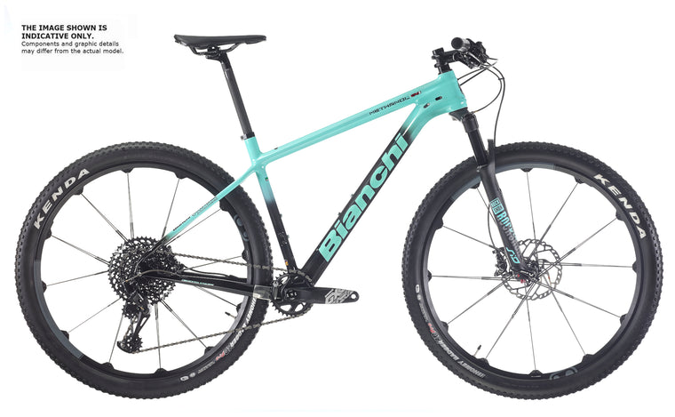 "BIANCHI METHANOL CV S 9,2 - XT 1x12, ROCK SHOX SID SELECT,29 "" FULCRUM RED ZONE 700 2020"