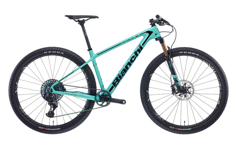 BIANCHI METHANOL CV RS 9,1 - XX1 EAGLE AXS 1x12, FOX 32 SC FACTORY, DT XR1501 SPLINE 2020