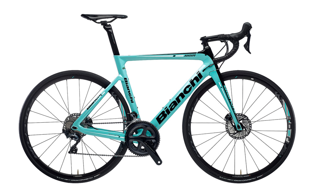 BIANCHI ARIA DISC - ULTEGRA 11SP 52/36 FULCRUM RACING 618 DB DISC 2020