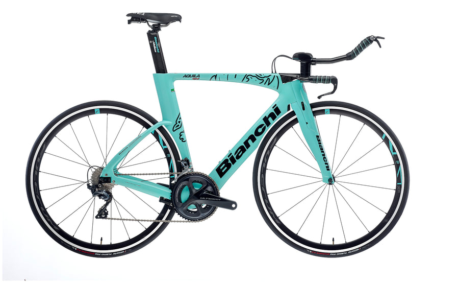 BIANCHI AQUILLA CV TIME TRIAL CARBON - ULTEGRA 11SP 52/36 FULCRUM RACING 418 2020